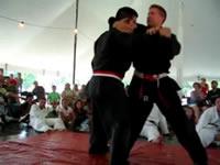 Goshin Jutsu Self Defense Demonstration Outside